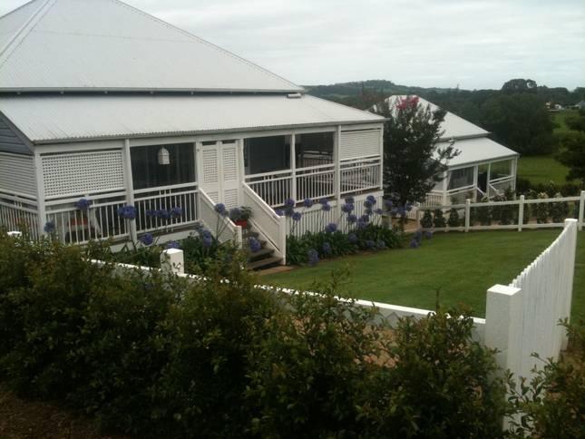roofline and enclosed verandah