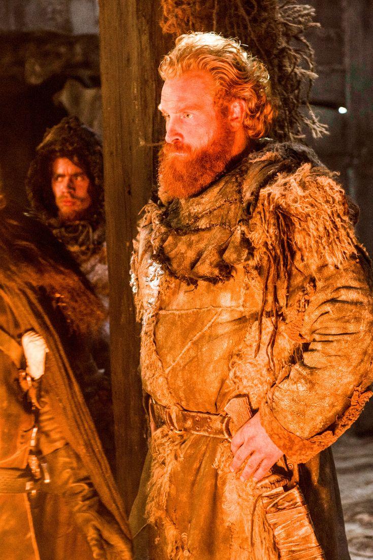 Kristofer Hivju as Tormund Giantsbane. A Wildling raider, Tormund is one of Mance Rayder's right hand men.