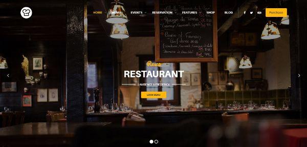 75+ Best Cafe & Restaurant WordPress Themes 2017