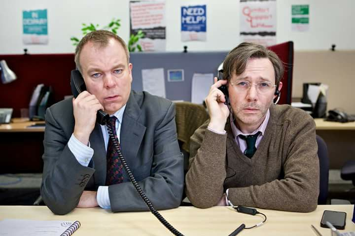 "Steve Pemberton & Reece Shearsmith in ""Cold Comfort"""