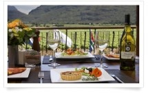 Bergsig Wine Estate offers a hearty breakfast, freshly baked cakes and delicious home-cooked lunches. (2km) Bergsig Bistro