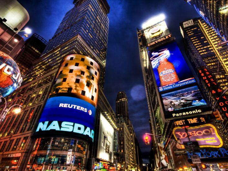 New York: Times Square colorata -