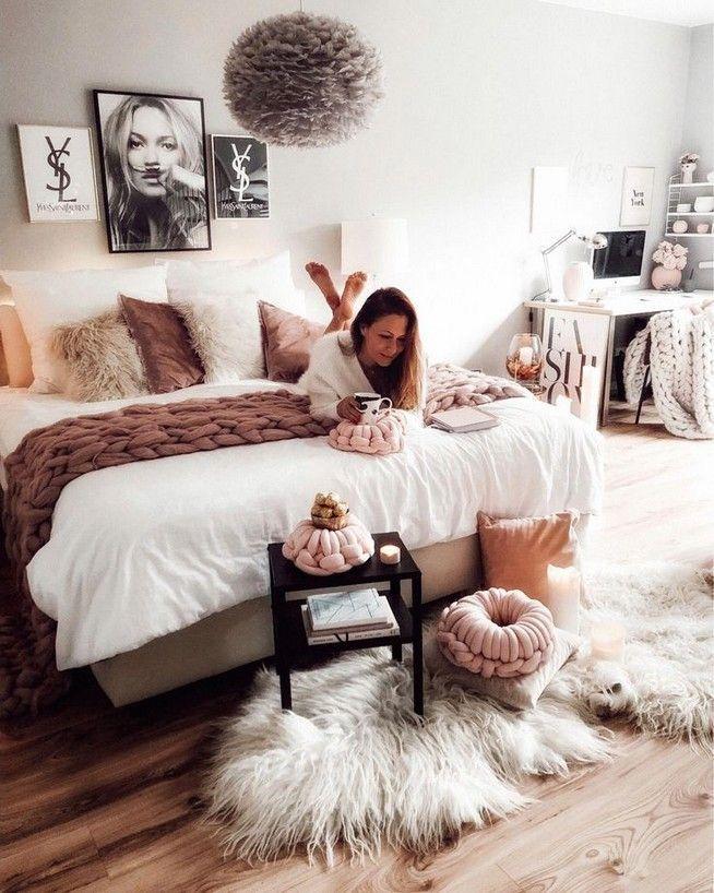Bedroom Decor Boho Cozy 10 Bedrooms In 2019 Spalnya Idei Dl Apartment Bedroom Decor Bedroom Decor For Women Cosy Bedroom Warm