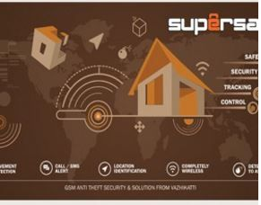 Make My Office | AD : SuperSafe - Gps tracking device, mobile & vehicle tracking system software supplier