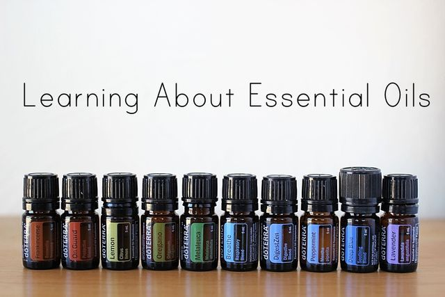 Learning About Essential Oils