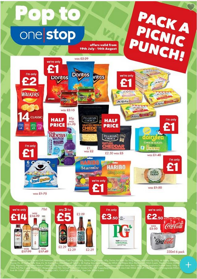 One Stop Offers 19th July - 14th August 2017 - http://www.olcatalogue.co.uk/one-stop/one-stop-offers.html