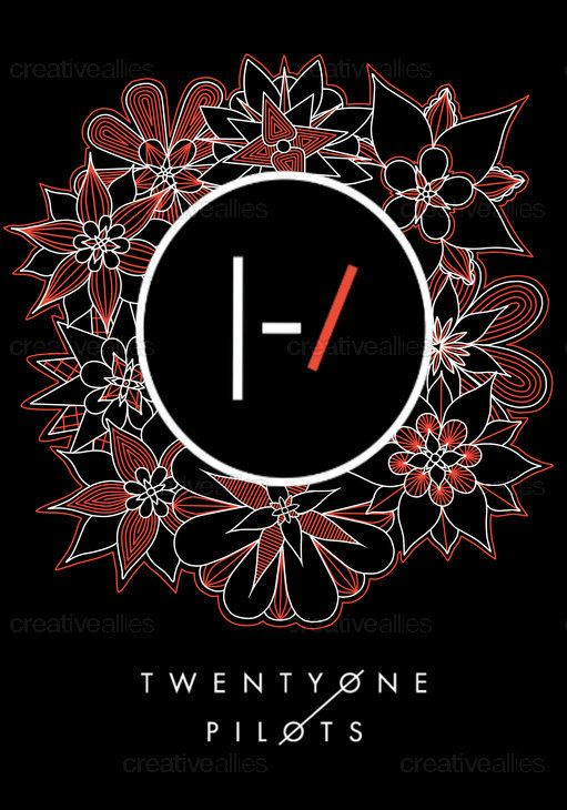 TWENTY ONE PILOTS Poster by Elwinta on CreativeAllies.com