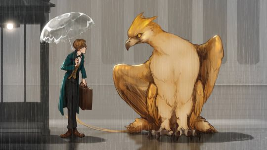 My Neighbor Thunderbird - Fantastic Beasts
