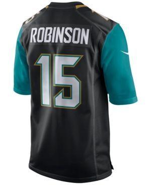 Nike Men's Allen Robinson Jacksonville Jaguars Game Jersey  - Black 3XL