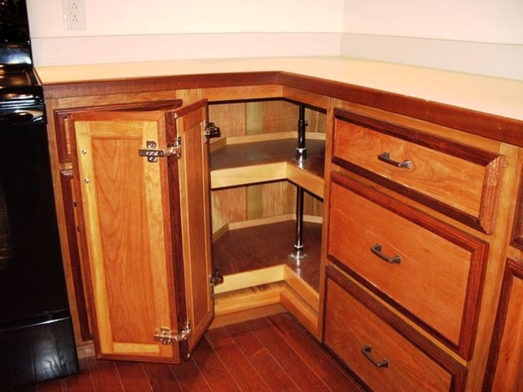 9 best Corner Kitchen Cabinet images on Pinterest Corner kitchen