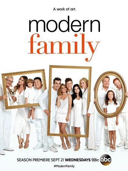 «Американская семейка» как произведение искусства. Постер