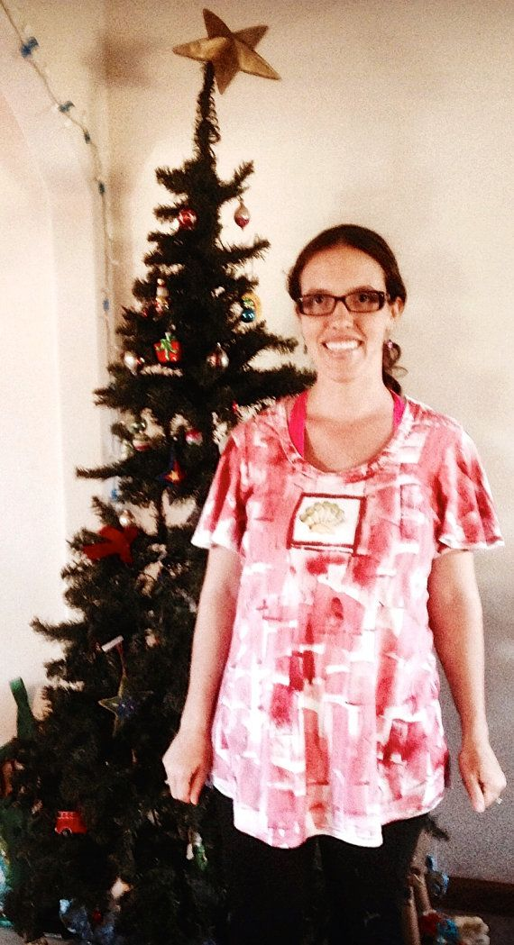 Woman Tunic  Plus Size Workout  Plus Size Tunic  by PetrinaBlakely #etsyspecialt #integritytt #womantunic