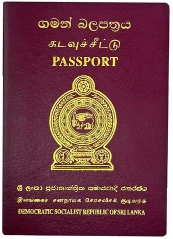passport sri lanka - Google-Suche