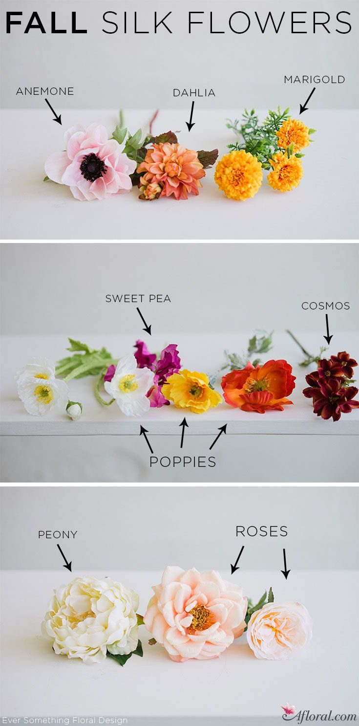 Find fall silk flowers for weddings and home decorating at Afloral ...