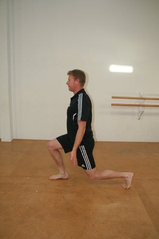 Lunge Split Jump - 3rd position