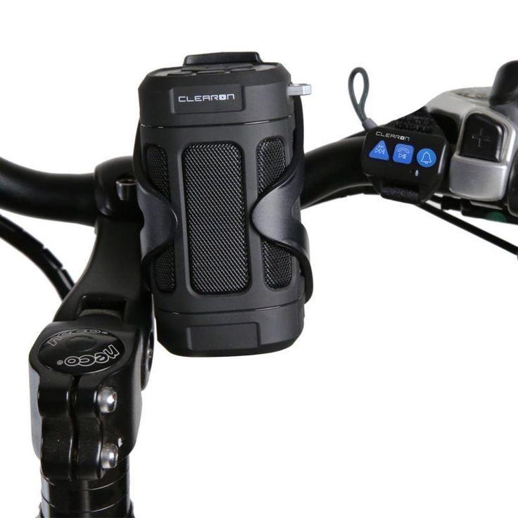 Portable Bluetooth Speaker By Clearon, Wireless Waterproof Speaker With Bike Mou
