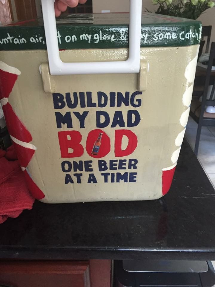 dad bod beer cooler