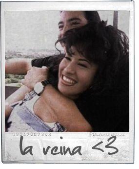 Selena Quintanilla in a scene from the No Me Queda Mas music video