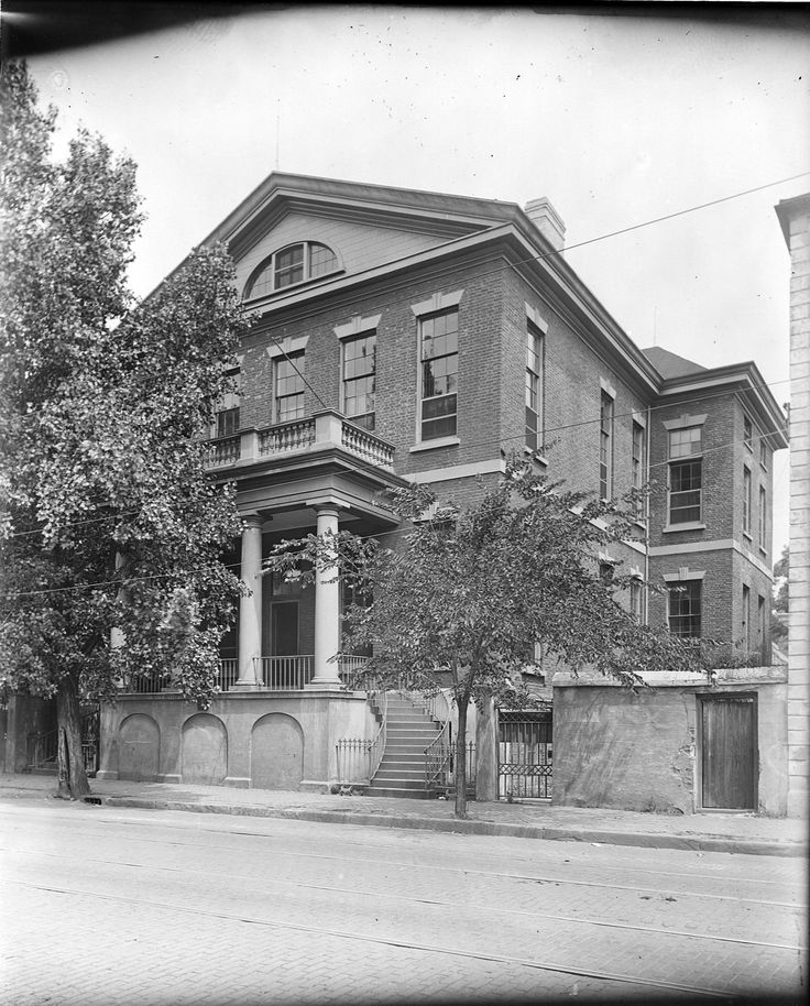 114 broad street colonel thomas pinckney jr house for Colonel homes