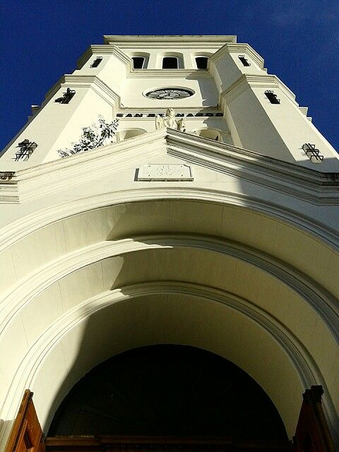 Church of Saint Bernard, in Villa Crespo. An neighbourhood of Buenos Aires city.