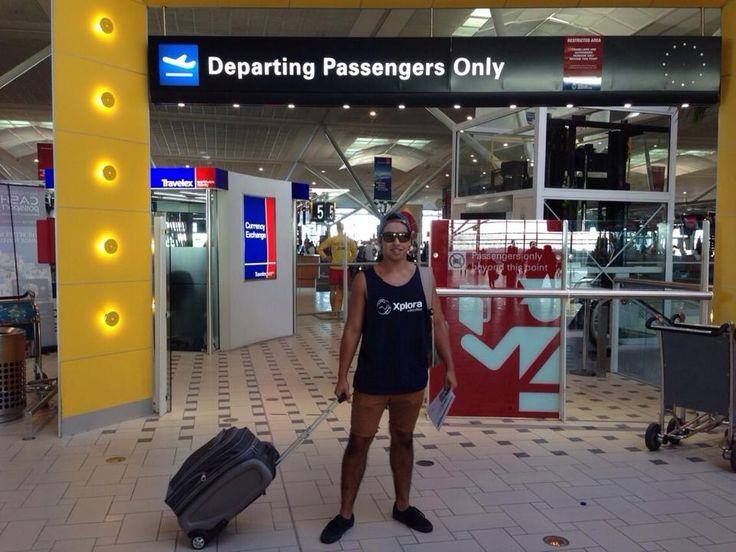 Nuestro viajero Xplora, Matías regresando de su programa de intercambio estudiantil en Australia! #xploraeducation #highschool #intercambioestudiantil #australia #goldcoast