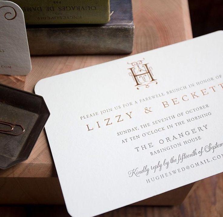 52 best Monogram & Duogram Wedding Invitations images on Pinterest ...