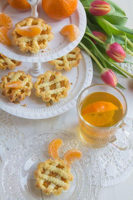 Cakes Lab Test&Taste: Crostatine con marmellata di mandarini