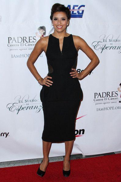 Eva Longoria - Stars at the Padres Contra El Cancer Event