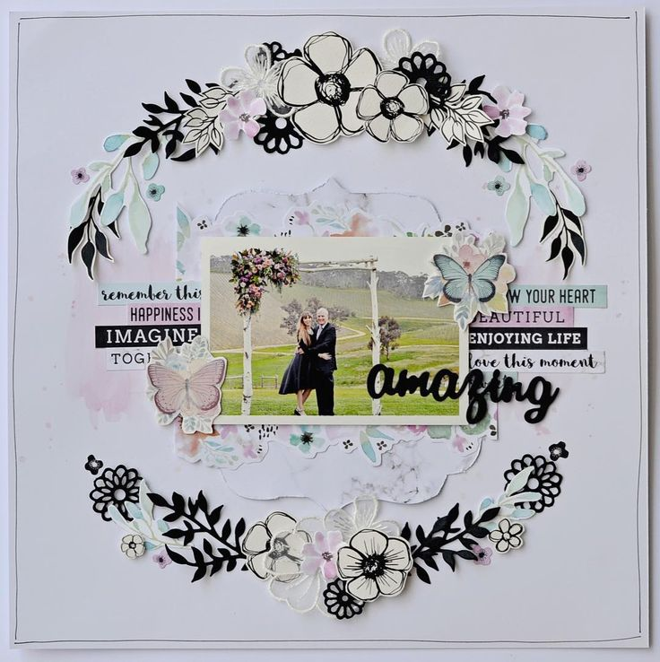 """5 Likes, 1 Comments - Creative Kit Club (@creative.kit.club) on Instagram: """"A beautiful layout made with the March Creative Kit by DT member @traceyleeschulz, step by step…"""""""