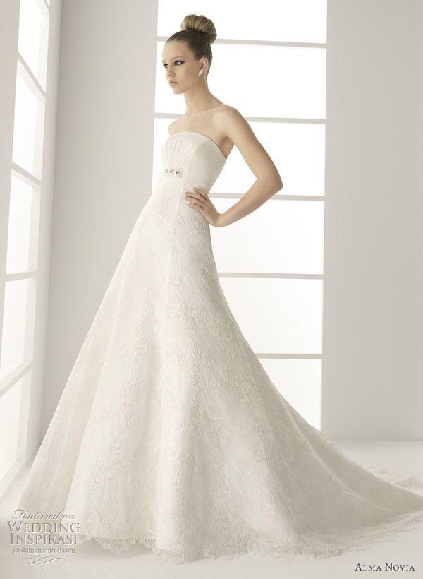 Alma Novia wedding dresses 2011