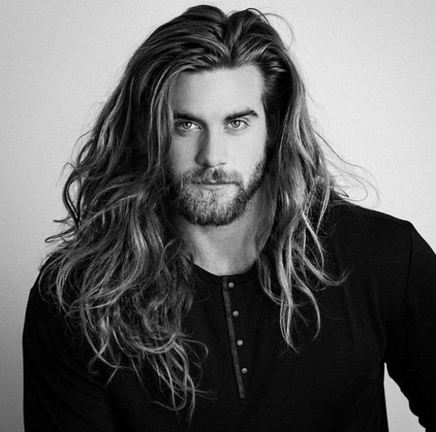 Guys Long Hairstyles long hairstyles for men Find This Pin And More On Long Hairstyles For Men By Trendhaircuts