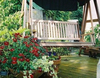 Wunderschone Ideen Und Tipps Wie Sie Eine Gartenschaukel Selber