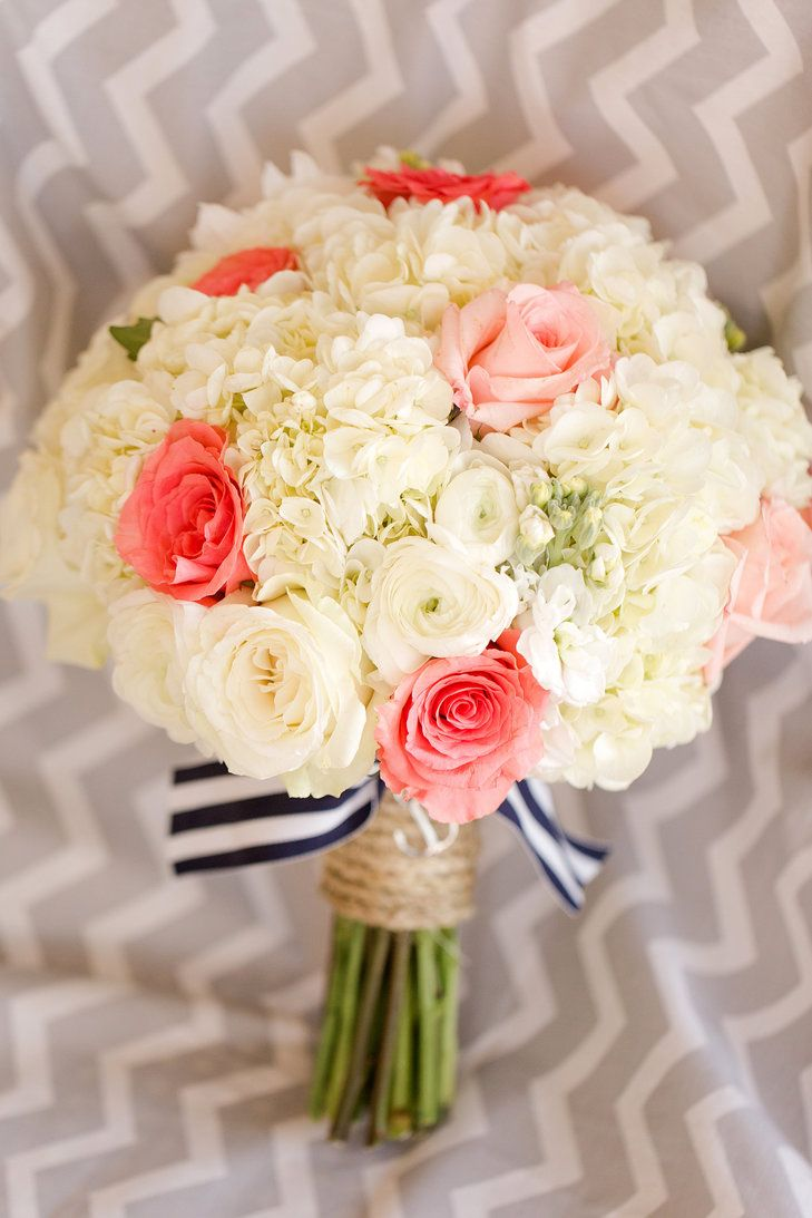 Coral and Ivory Rose Bridal Bouquet | Katelyn James Photography https://www.theknot.com/marketplace/katelyn-james-photography-manakin-sabot-va-358734