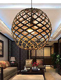 12W Vedhæng Lys , Kontor/Business Andre Feature for LED Træ/bambus Stue / Soveværelse / Spisestue / Læseværelse/Kontor / Entré – DKK kr. 444