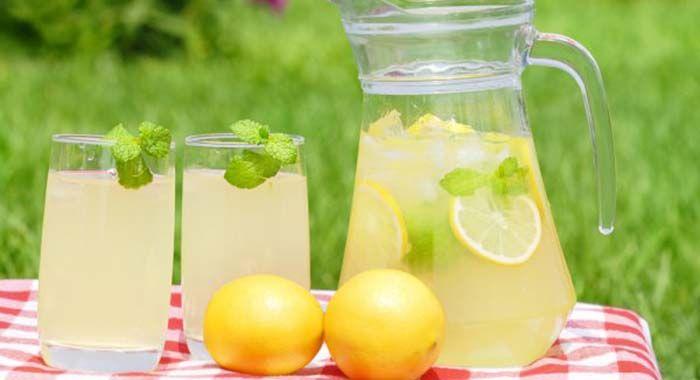Lacná a chutná osviežujúca limonáda na leto