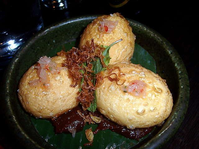 Gingerboy - Son-In-Law Eggs with chilli jam