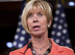 """Rep. Janice Hahn (D-Calif.) walked out of the National Day of Prayer event at the U.S. Capitol on Thursday, saying she was """"outraged"""" after James Dobson, founder of the conservative Christian advocacy group Focus on the Family, called President Barack Obama the """"abortion president."""""""