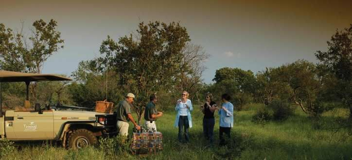 Morning and afternoon/evening game-drives in open game-viewing vehicles, bush sundowners and drink stops in the Reserve, visits to hides.