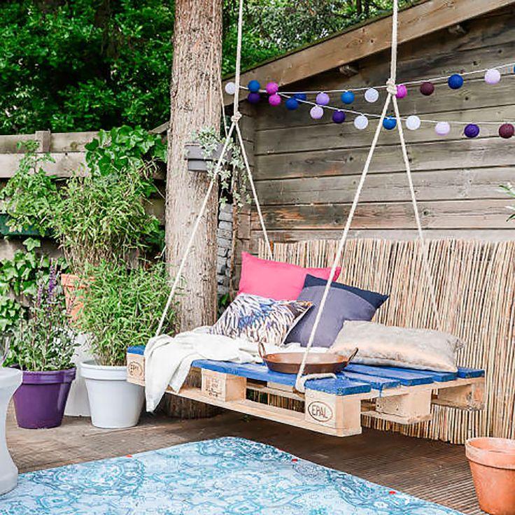 10 balancines DIY que harán las noches en el jardín más cálidas