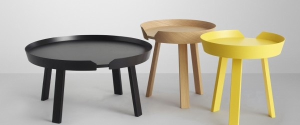 Around is the name of awesome coffee and side tables from the Danish furniture and interior company Muuto. The design is simple and functional, and the materials and craftsmanship expresses the the traditional Scandinavian design values.    The Around tables has a modern and unique identity with inspiration by 50′s and 60′s Scandinavian craft. It is minimalistic and user-friendly Danish furniture design at its very best!