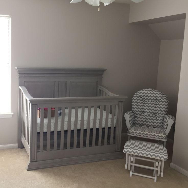 Cribs & Nursery | Then Comes Family - Baby Cache - Vienna Ash Gray