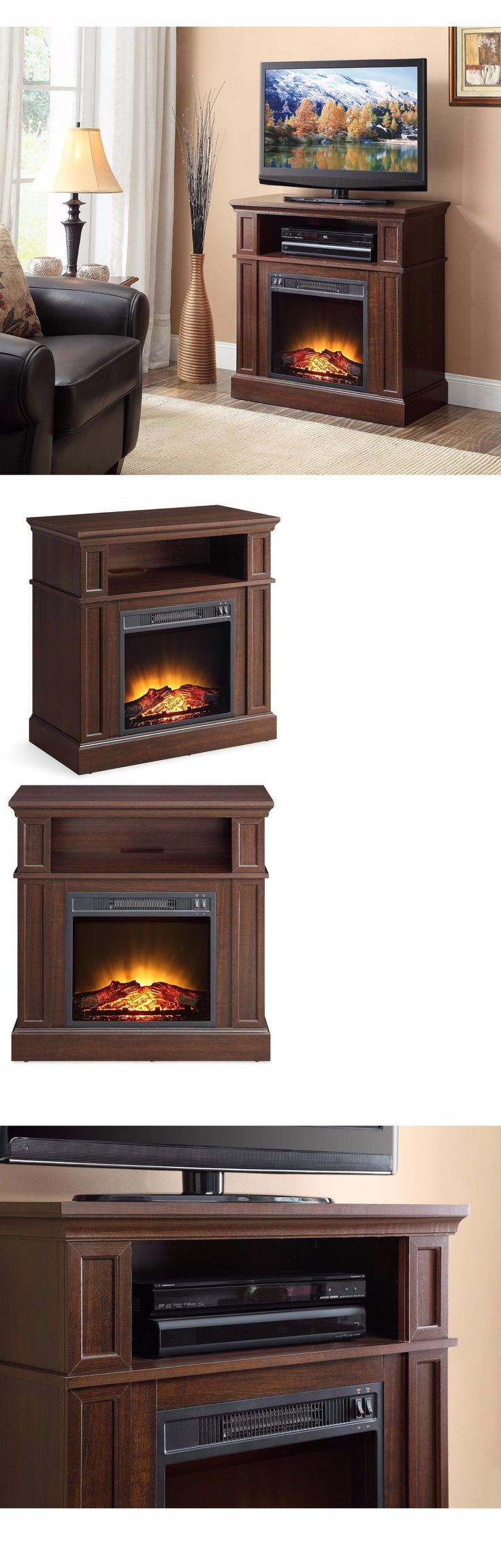 Fireplaces 175756: Electric Fireplace Media Center Fireplaces Entertainment Console Tv Stand Home -> BUY IT NOW ONLY: $199.97 on eBay!