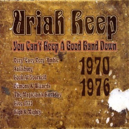 URIAH HEEP - You Can't Keep A Good Band Down: 1970 1976 (7cd )