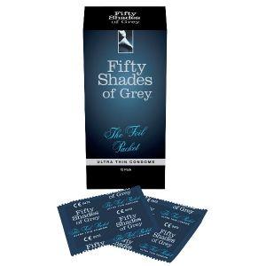 Prezervative Ultra Thin Fifty Shades of Grey 12buc | Sexshop Xtoys.ro