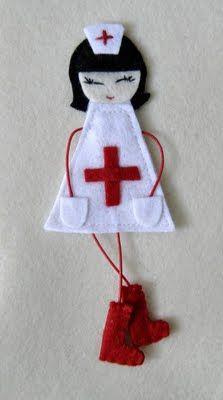 Enfermera retro