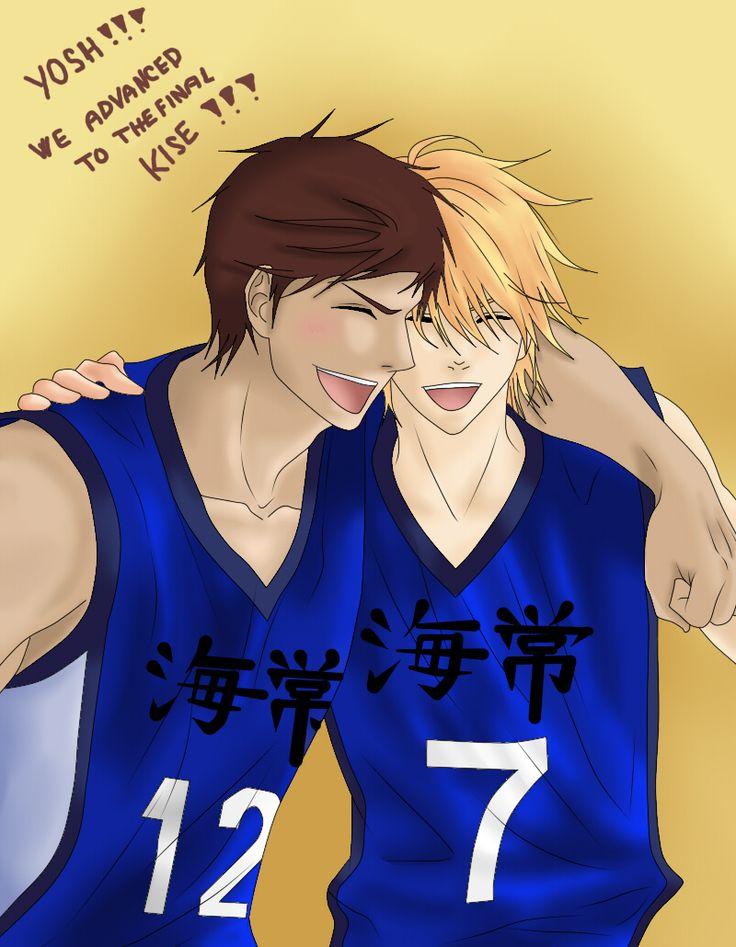 kuroko no basket rpc hinata and kise rpc anime