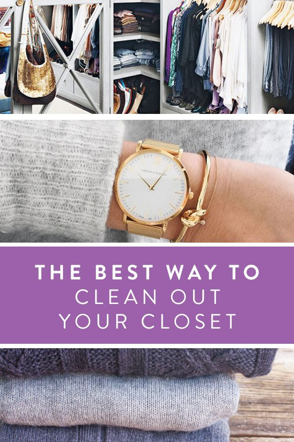 The Best Way to Clean Out Your Closet Cleanses, The o