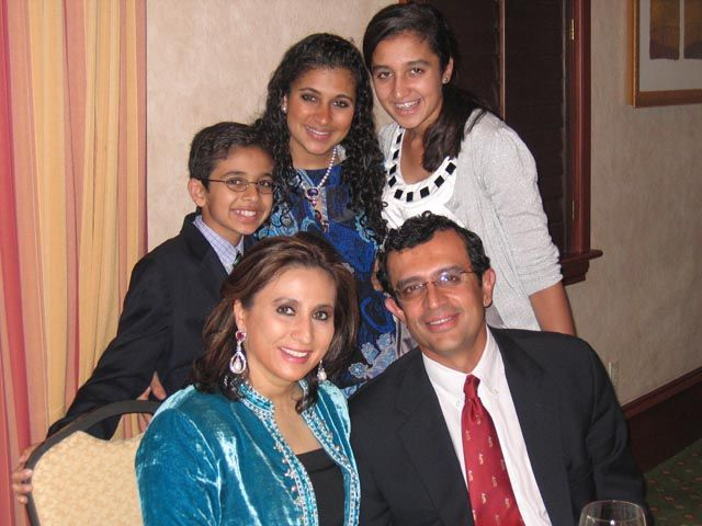 An Investment Banker Vikram Gandhi With His Wife Meera