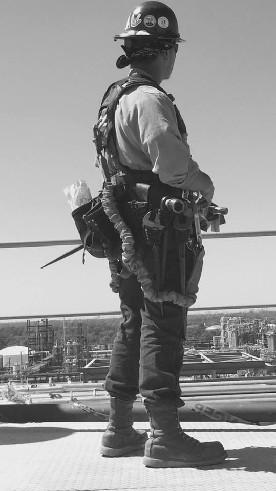 Construction man. Ironworker