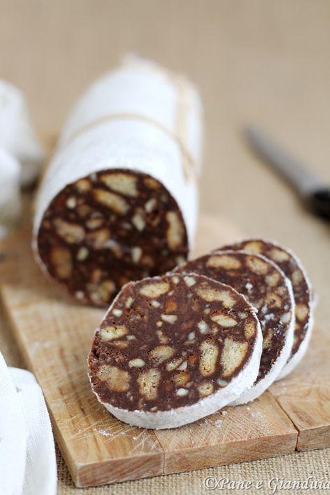 Salame dolce al cioccolato